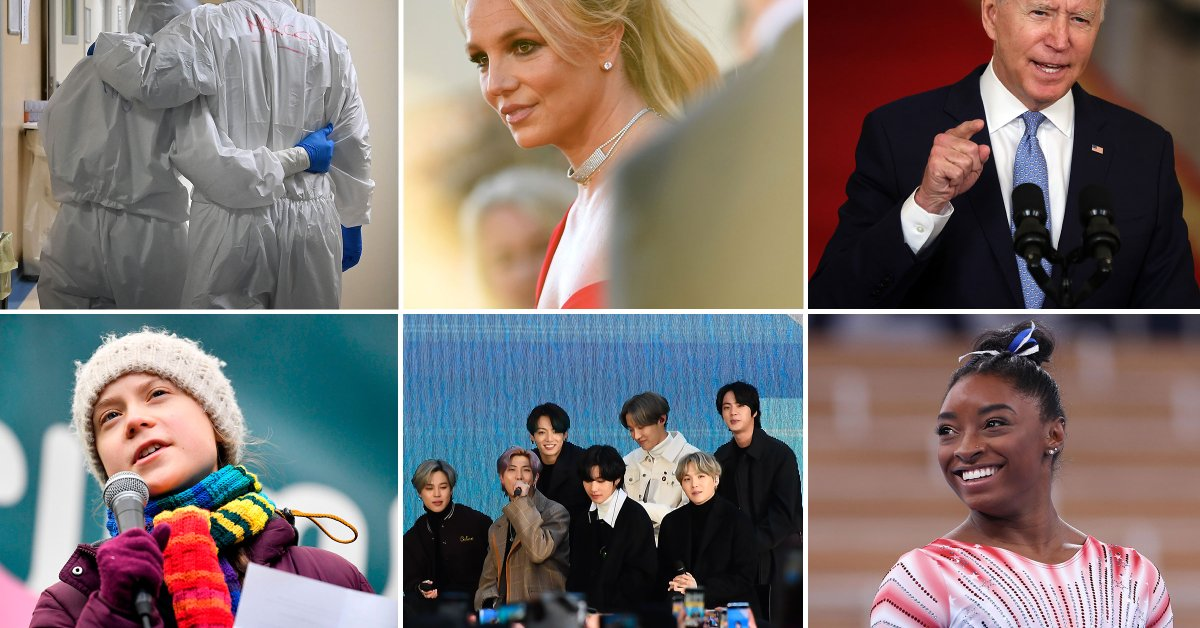 Pop Icon Britney Spears Wins TIME's 2021 TIME100 Reader Ballot